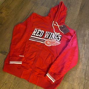 Detroit Red Wings Men's Full Zip Hoodie 2XL